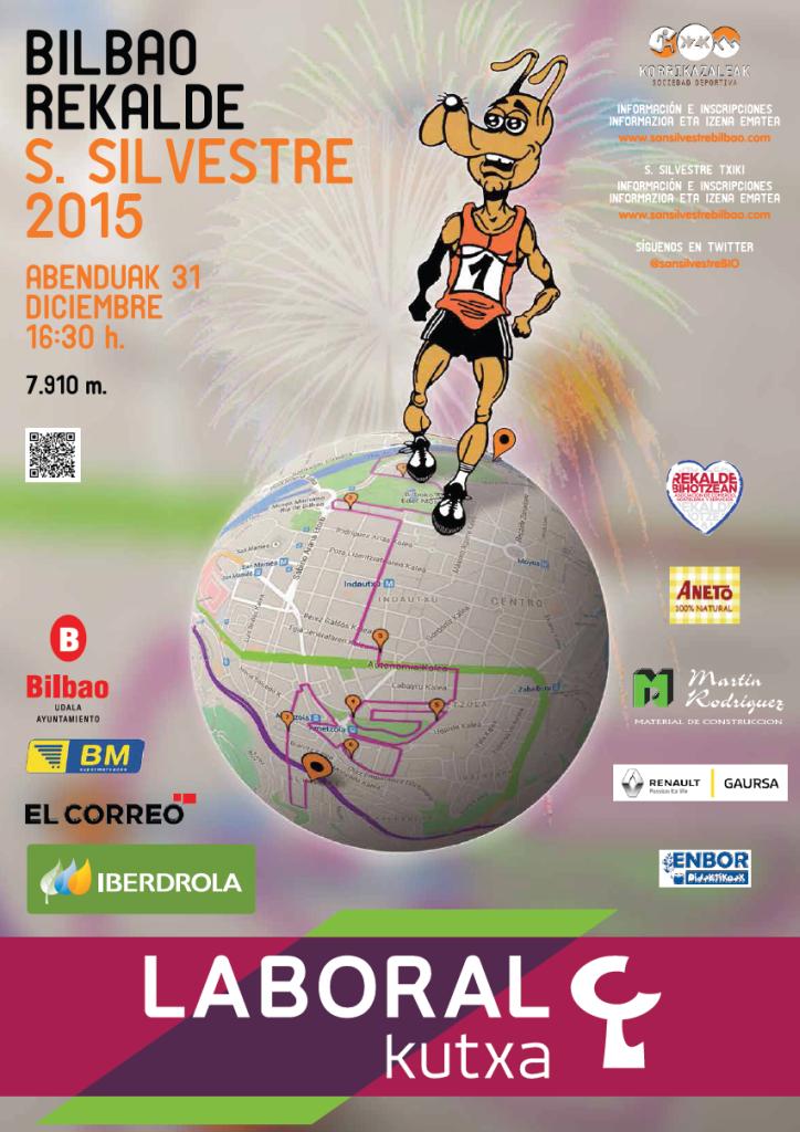Bilbao Rekalde San Silvestre 2015