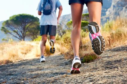 feet running outdoor
